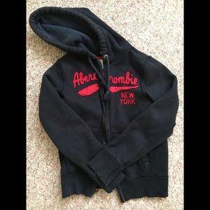 Men's Abercrombie & Fitch fleece hoodie